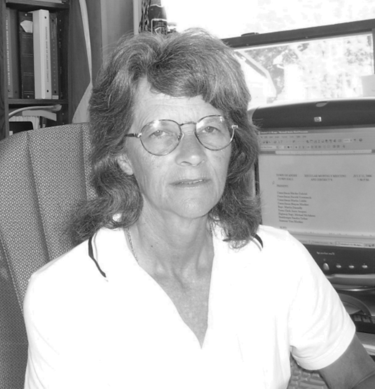 YOUR ANDES TOWN CLERK:  JANIS LYNN JACQUES— August 2006