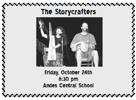 COMMUNITY STORYTELLING TROUPE - October 2008