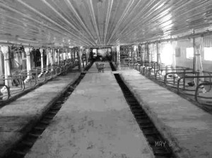The Grommeck barn is empty