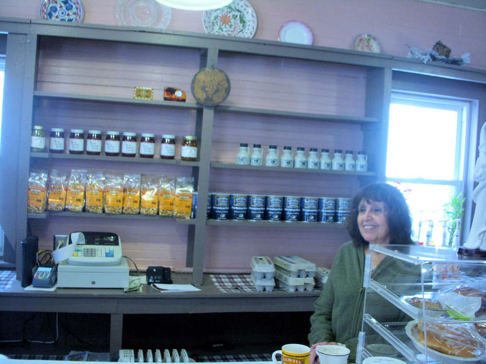 Candy Chin welcomes customers at the Tremperskill Country Store