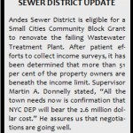 SEWER DISTRICT INFO