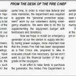 FIRE CHIEF BERGHAMMER SPEAKS OUT