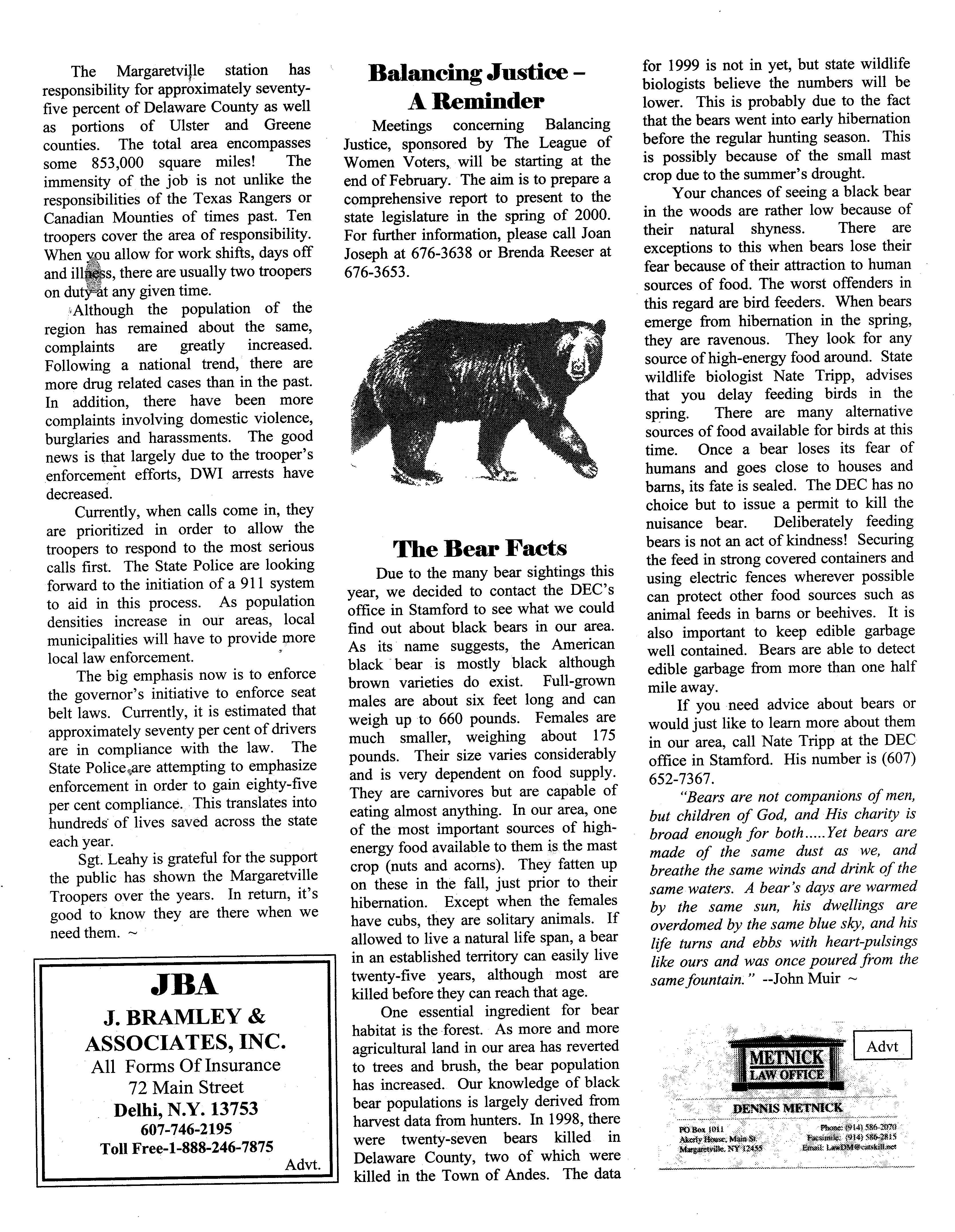 ANDES GAZETTE - February 2000 - Page 4