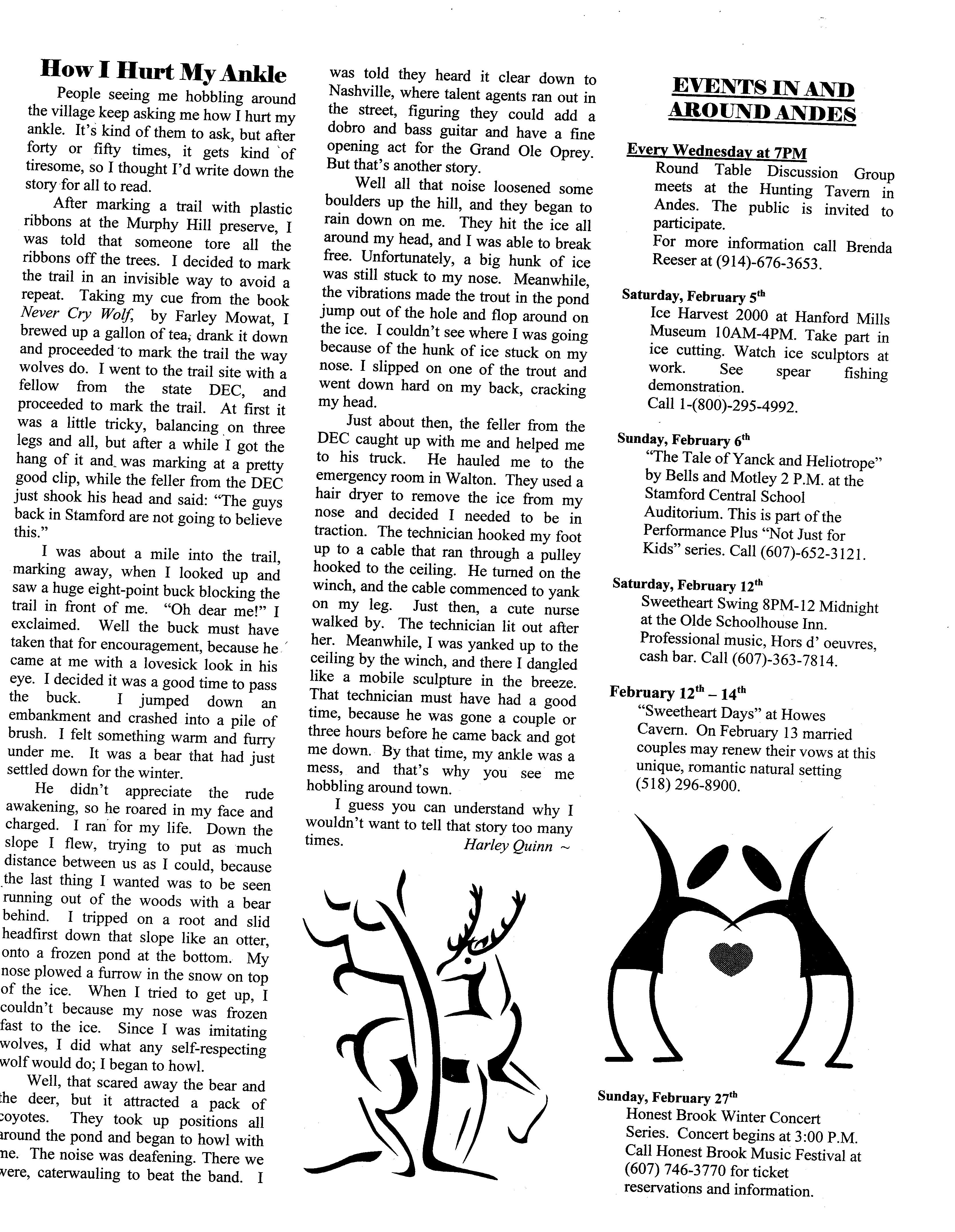 ANDES GAZETTE - February 2000 - Page 7