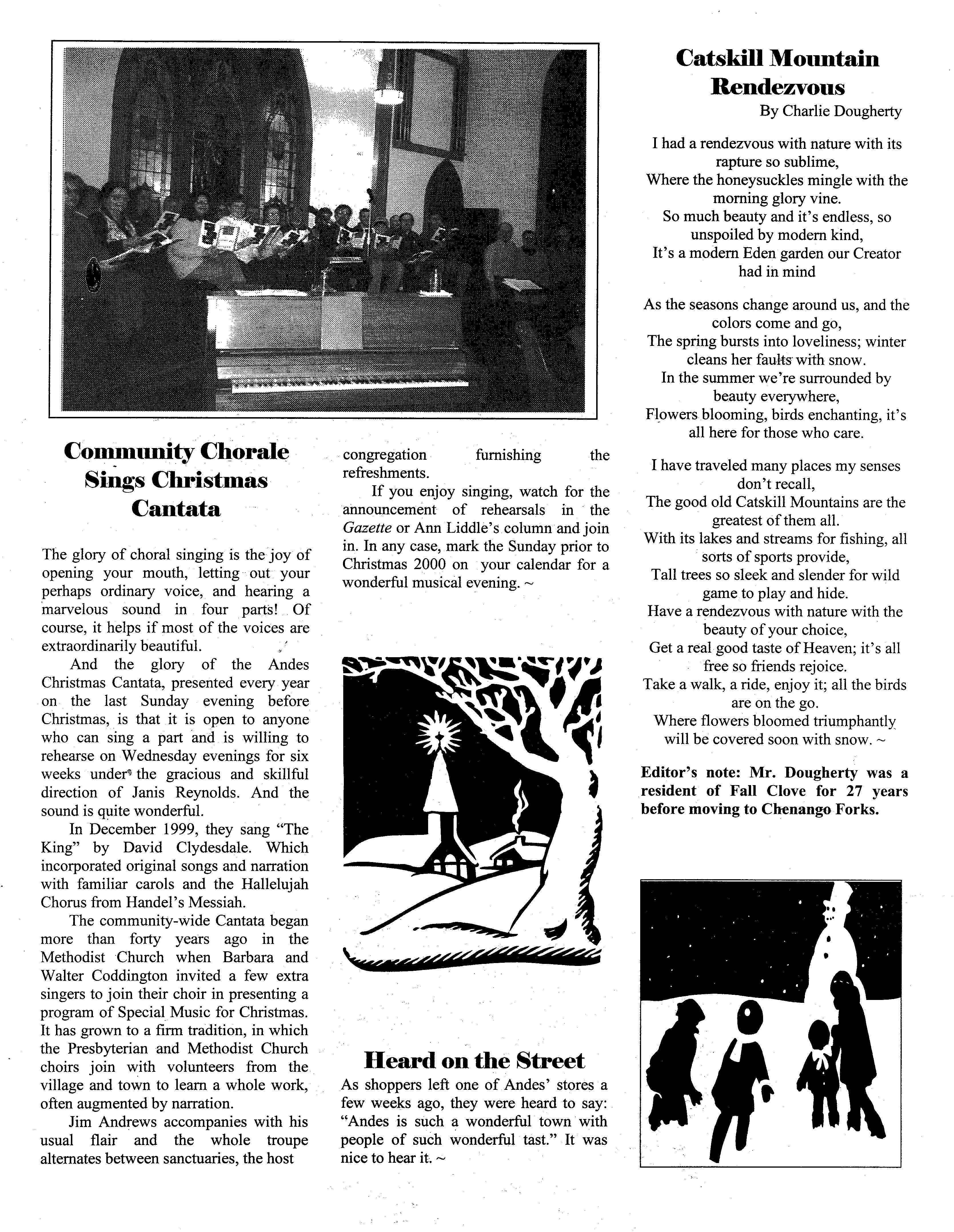 ANDES GAZETTE - January 2000 - Page 7
