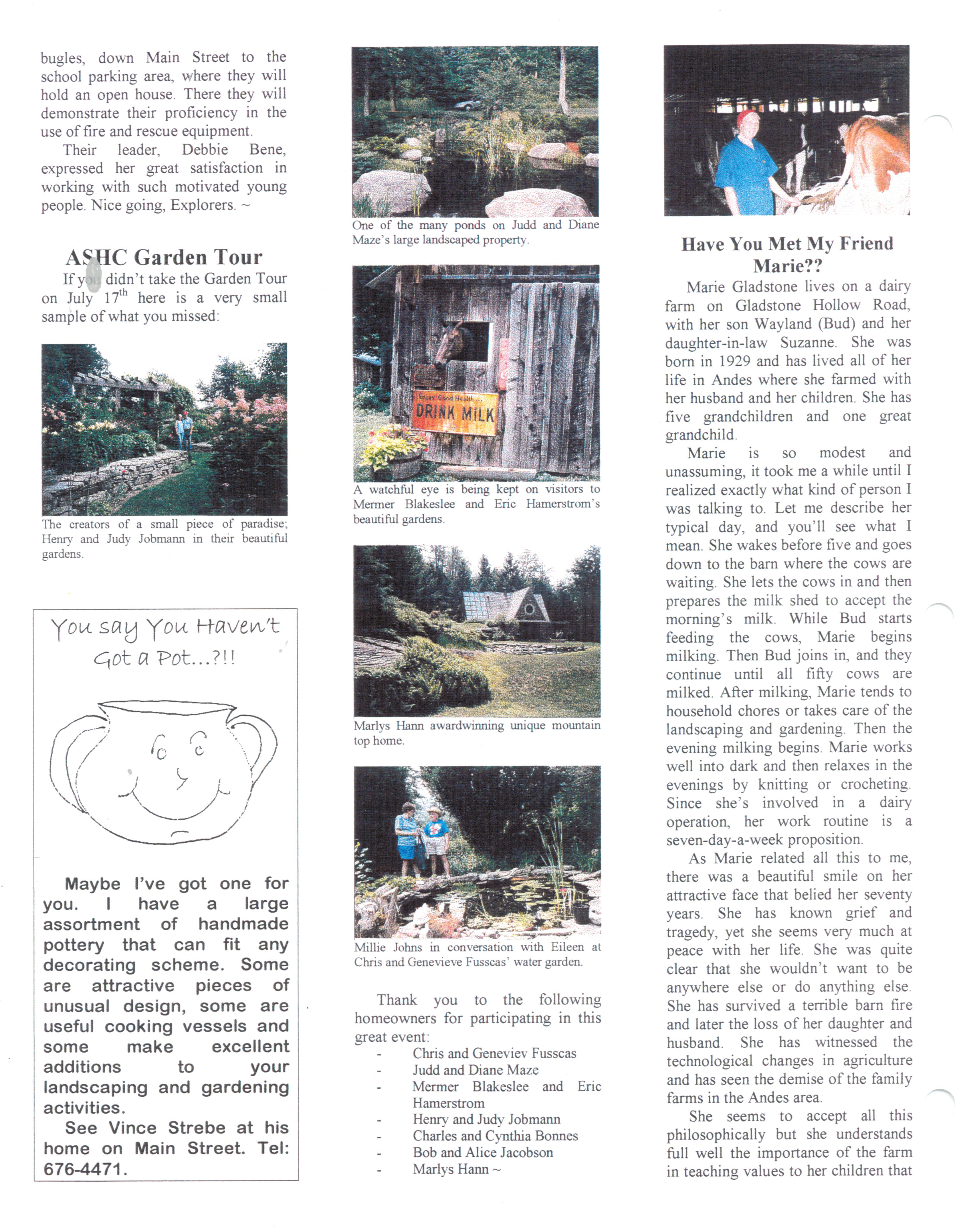 ANDES GAZETTE - August 1999 - Page 4