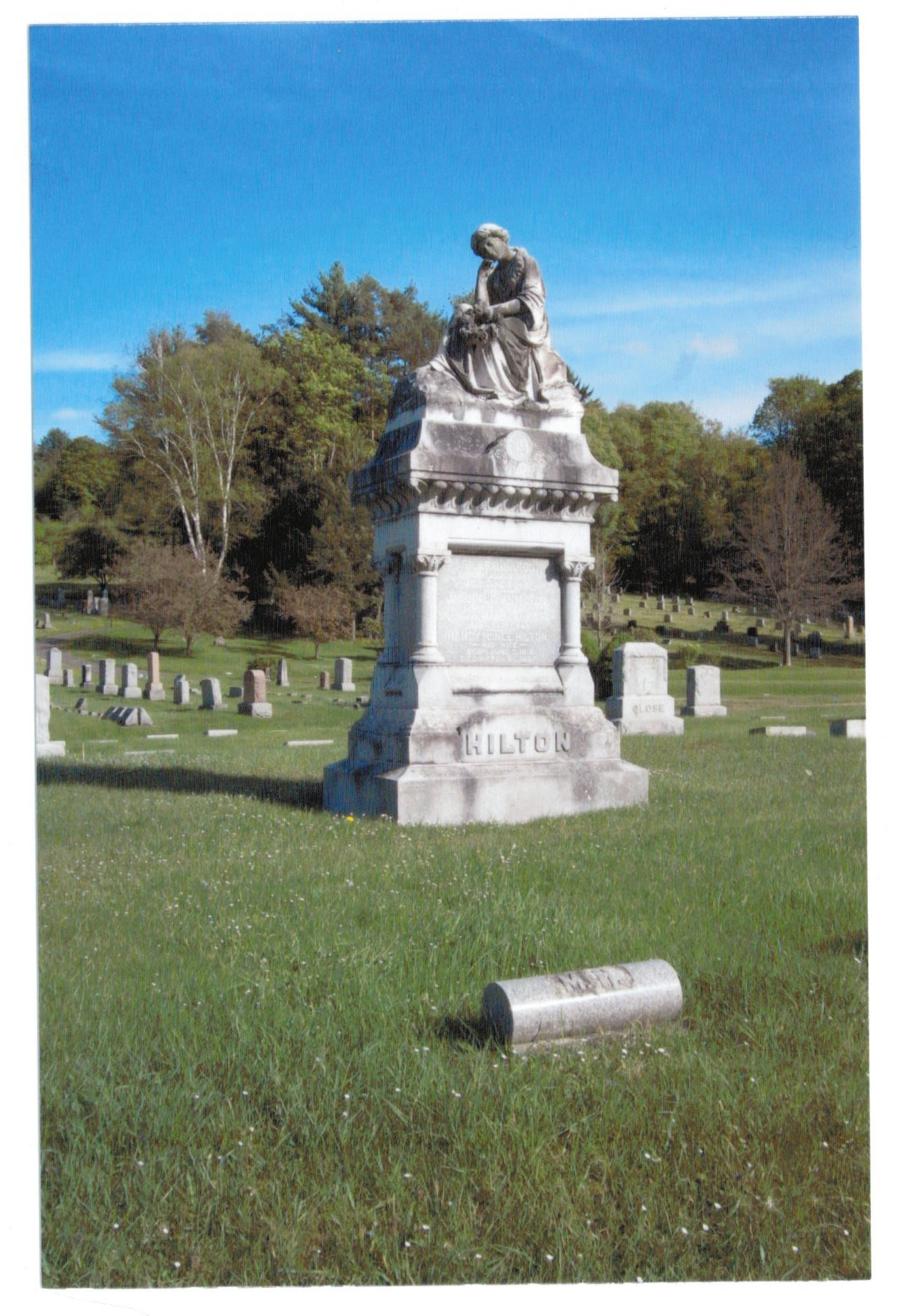 THE ANDES CEMETERY (Coulter Road and the Tremperskill) PART I: History - March 2015