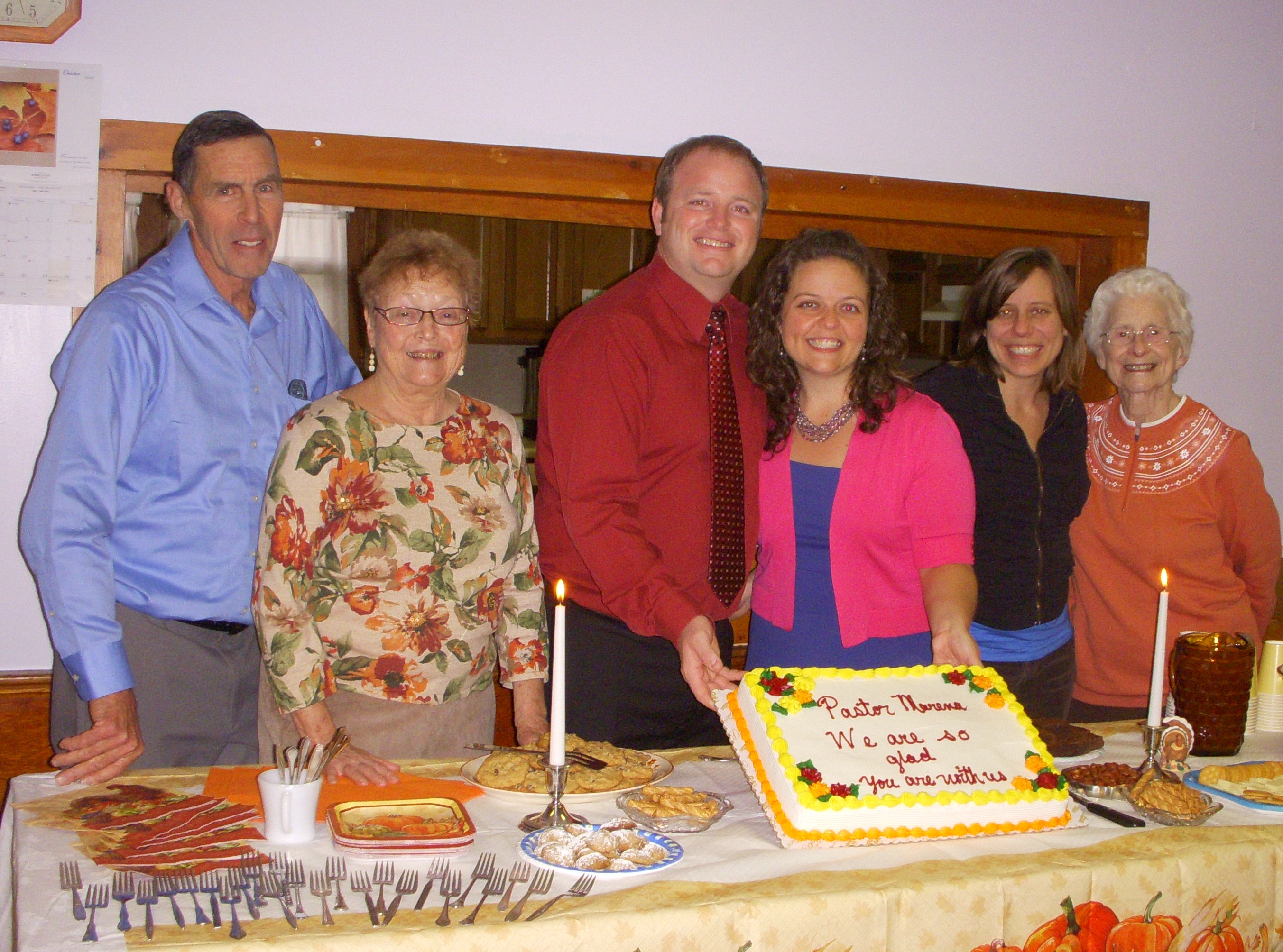Andes Presbyterian Church Welcomes New Pastor - December 2014