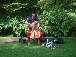 Soulful Cellist @ the Park