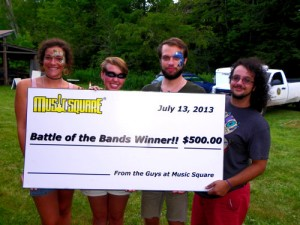 PHOTO battle of the bands winners
