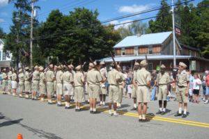 Delaware Boys' Camp Marching Band