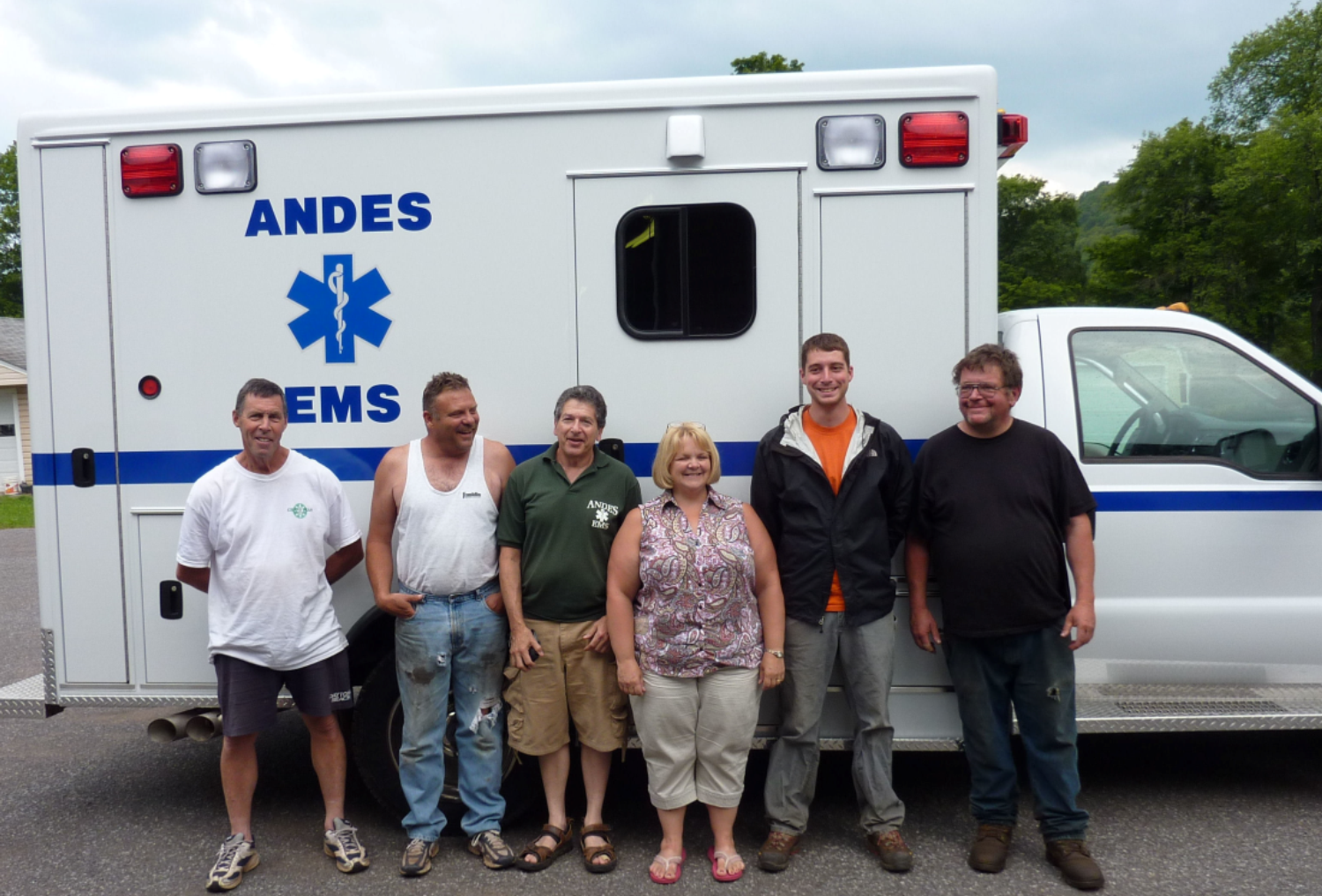 ANDES GETS A NEW AMBULANCE - August 2009