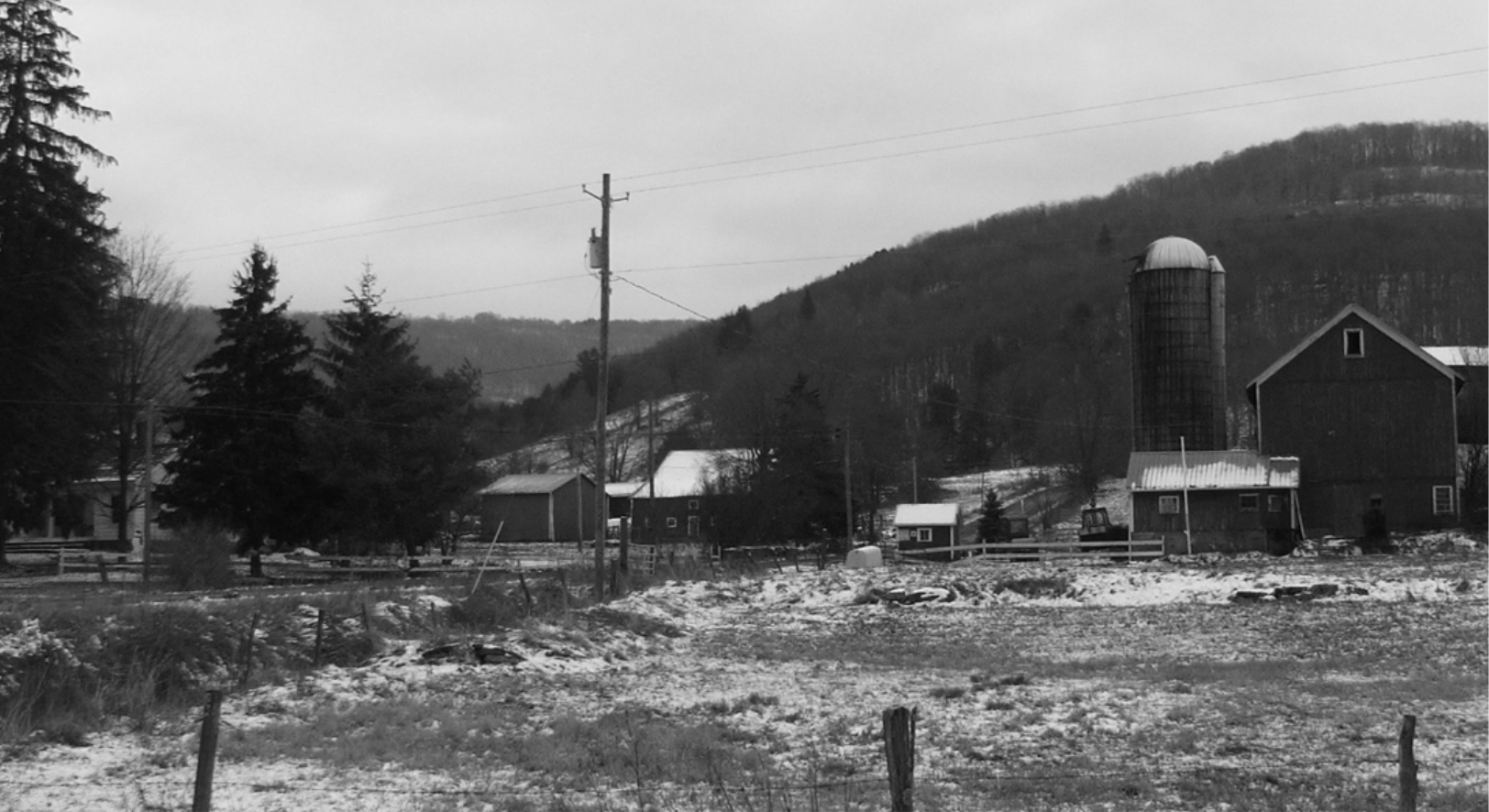 VIEW OF A VERY PLEASANT VALLEY— January 2007