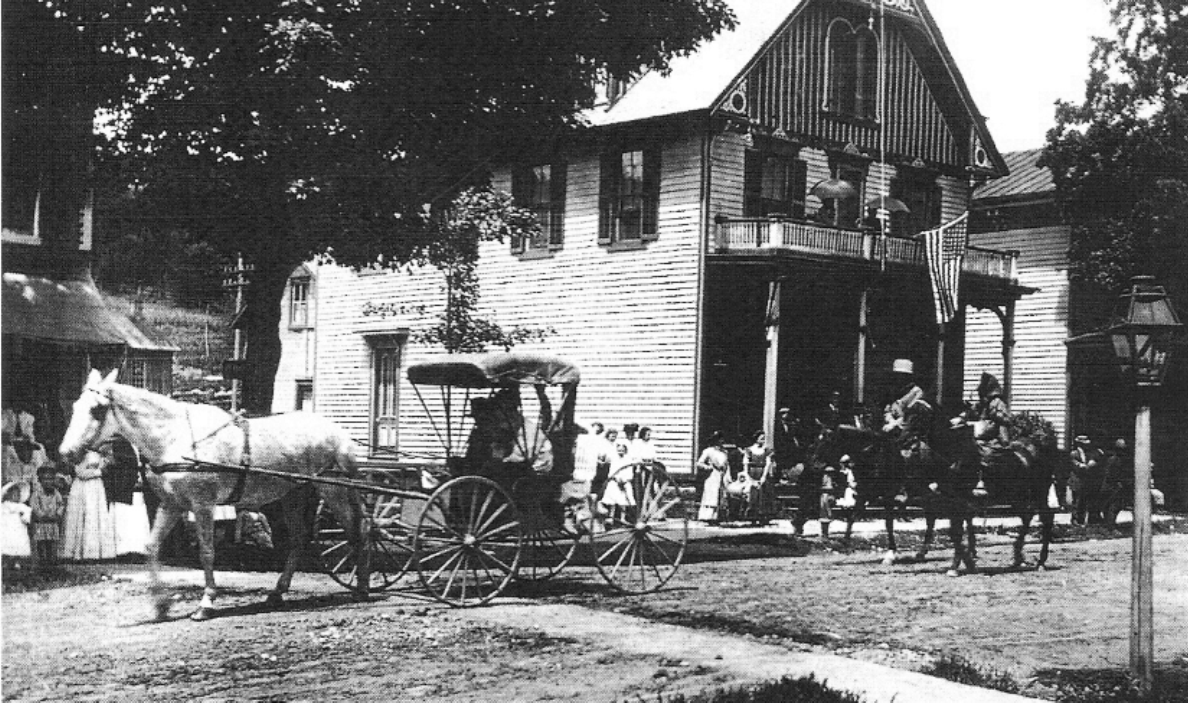 75 MAIN STREET, ANDES IN THE LATE 19TH CENTURY - August 2006
