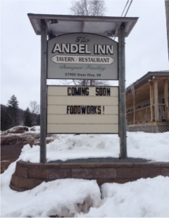 NEW LIFE FOR ANDEL INN — April 2018