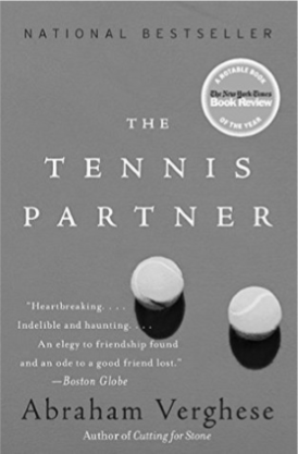 BOOK REVIEW: The Tennis Partner by Abraham, Verghese — February 2020