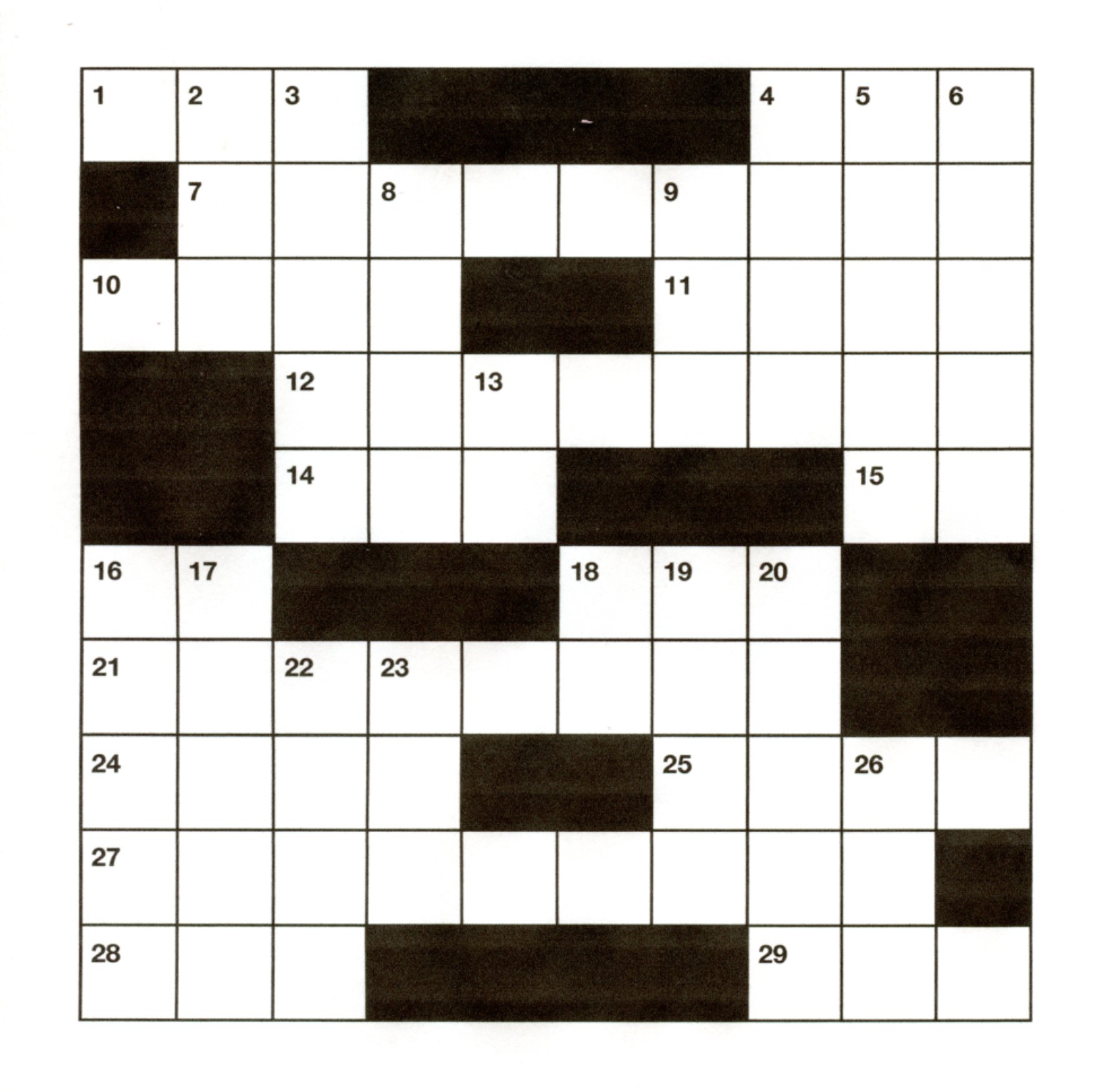 APRIL CATSKILL CROSSWORD - April 2020