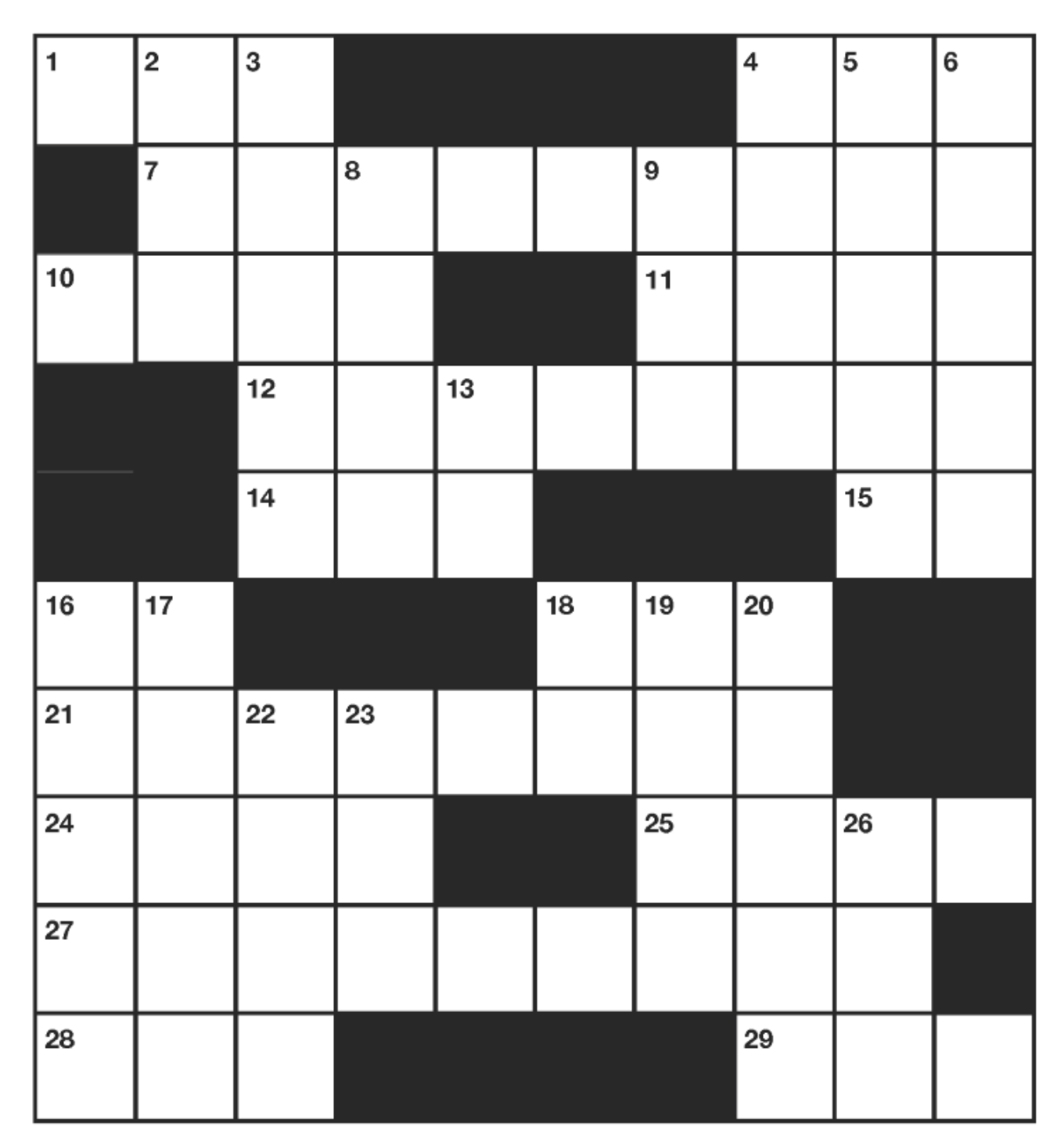 JULY CATSKILL CROSSWORD - July 2020