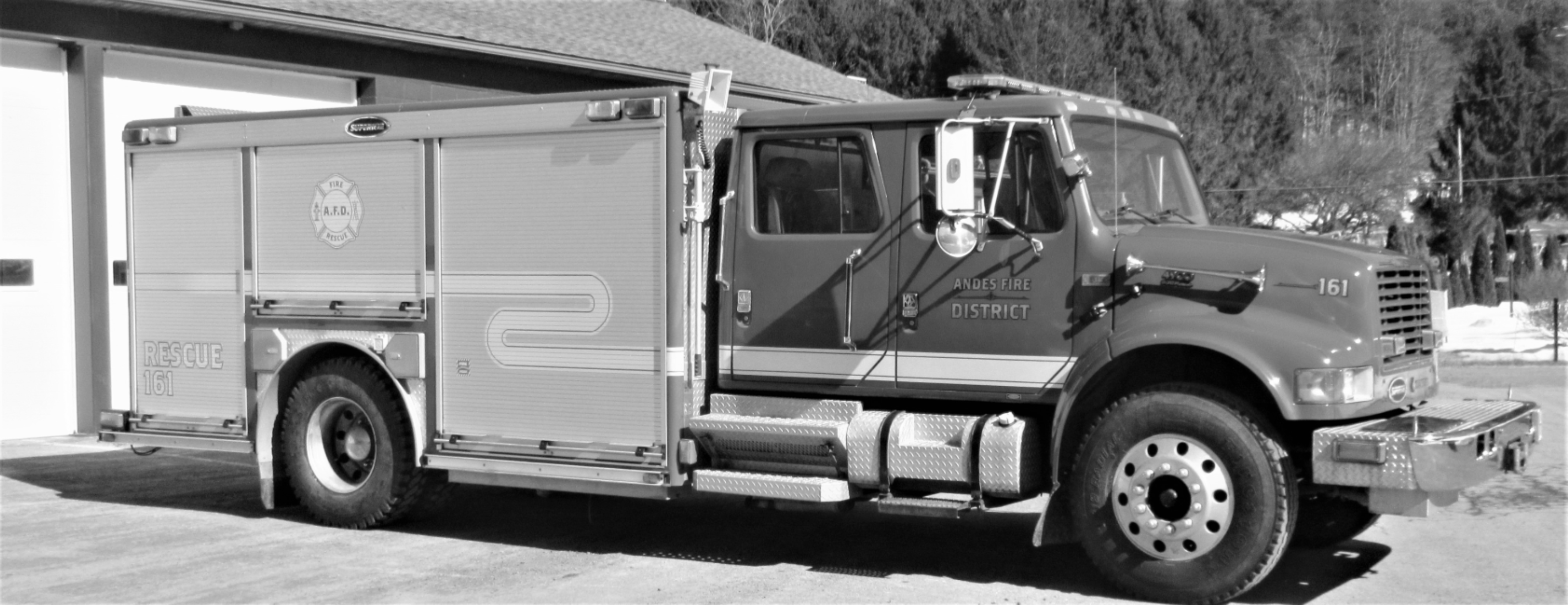 NEW (USED) RESCUE TRUCK ADDED TO FIRE DEPARTMENT FLEET — April 2021