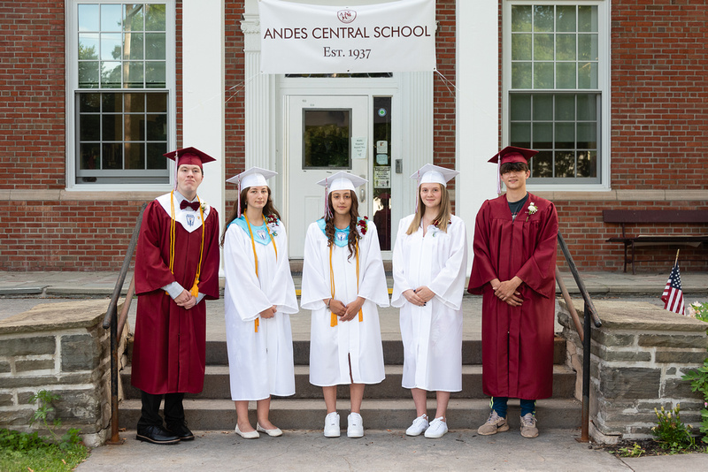 ANDES CENTRAL SCHOOL CLASS OF 2021 - August 2021